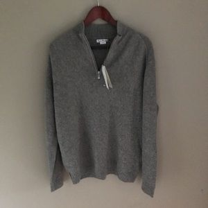 Other - NWT Men's 100% Wool Sweater half zip